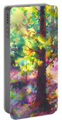 Dappled - Light Through Tree Canopy Portable Battery Charger