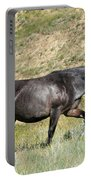 Dark And Wild Horse Portable Battery Charger by Sabrina L Ryan