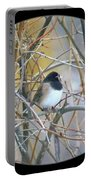 Dark- Eyed Junco Portable Battery Charger