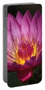 Dark Pink Waterlily...   # Portable Battery Charger