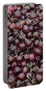 Dark Red Cherries For Sale Portable Battery Charger
