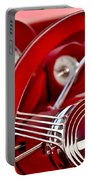 Dashboard Red Classic Car Portable Battery Charger