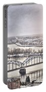 Daugava Railway Bridge Portable Battery Charger