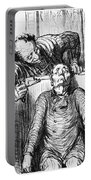 Daumier: Dentist, 1864 Portable Battery Charger