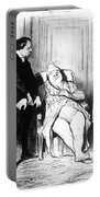 Daumier: Doctor Cartoon Portable Battery Charger