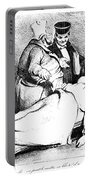 Daumier: Republican, 1834 Portable Battery Charger