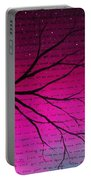 Dave Matthews Band Crush Lyric Art - Pink Portable Battery Charger