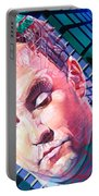 Dave Matthews Open Up My Head Portable Battery Charger by Joshua Morton