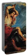 David Slaying Goliath Portable Battery Charger