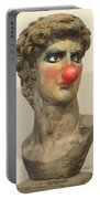 David With Makeup And Clown Nose 1 Portable Battery Charger