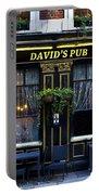 David's Pub Portable Battery Charger