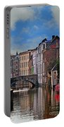 Dawn In Bruges Portable Battery Charger