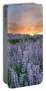 Dawn Of Lupine Portable Battery Charger