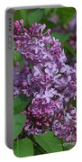 Dawns Lilacs Portable Battery Charger