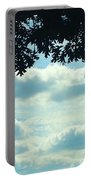 Day Dreaming With Clouds Portable Battery Charger