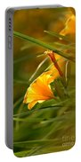 Day Lily Backlit Portable Battery Charger