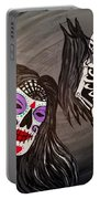Day Of The Dead Good Vs Evil Portable Battery Charger