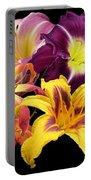 Daylily Banner Portable Battery Charger