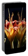 Daylily Doubled Portable Battery Charger