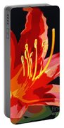 Daylily Flame Portable Battery Charger