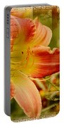Daylily Memories Portable Battery Charger