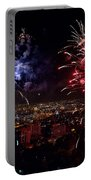 Dazzling Fireworks II Portable Battery Charger by Ray Warren