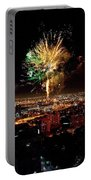 Dazzling Fireworks Iv Portable Battery Charger