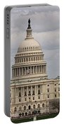 Dc Capitol Building Portable Battery Charger
