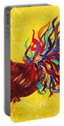 De Colores Rooster Portable Battery Charger