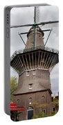 De Gooyer Windmill In Amsterdam Portable Battery Charger