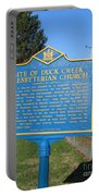 De-kc81 Site Of Duck Creek Presbyterian Church Portable Battery Charger