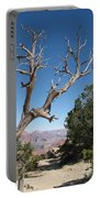 Dead Tree At Grand Canyon South Rim Portable Battery Charger