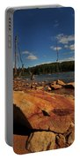Dead Trees And Rocks Portable Battery Charger