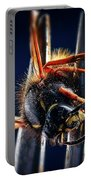 Dead Wasp On A Fork Portable Battery Charger