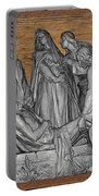 Death Of Christ Portable Battery Charger