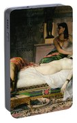 Death Of Cleopatra Portable Battery Charger