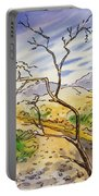 Death Valley- California Sketchbook Project Portable Battery Charger
