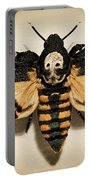 Deaths Head Hawk Moth Lomo Portable Battery Charger