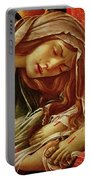 Deatil From The Lamentation Of Christ Portable Battery Charger