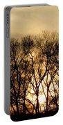 December Forest Dusk Portable Battery Charger