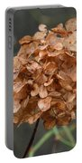 December Hydrangea II Portable Battery Charger