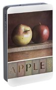 Deco Apples Portable Battery Charger