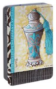 Decorative Bathroom Bath Art Original Perfume Bottle Painting Luxe Perfume By Madart Portable Battery Charger