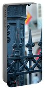 Decorative Iron Fence In New Orleans Portable Battery Charger