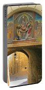 Decorative Laneway Of Florence  Portable Battery Charger