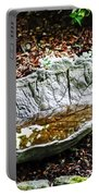 Decorative Leaf Birdbath Portable Battery Charger
