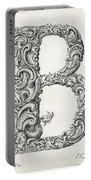 Decorative Letter Type B 1650 Portable Battery Charger