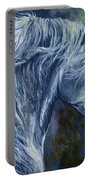 Deep Blue Wild Horse Portable Battery Charger