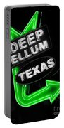 Deep Ellum In Green Portable Battery Charger