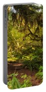 Deep Into The Hoh Rain Forest Portable Battery Charger